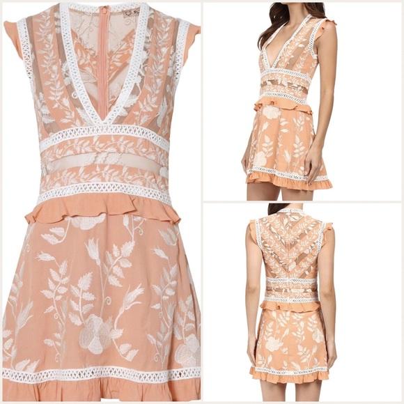 For Love Lemons Dresses For Love Lemons Mia Paneled Mini Dress